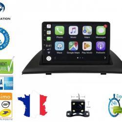 Autoradio Android tactile GPS Bluetooth BMW X3 E83 de 2004 à 2010 + caméra de recul