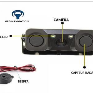 Camera de recul et radar de recul integre gps navigation fr 1 2