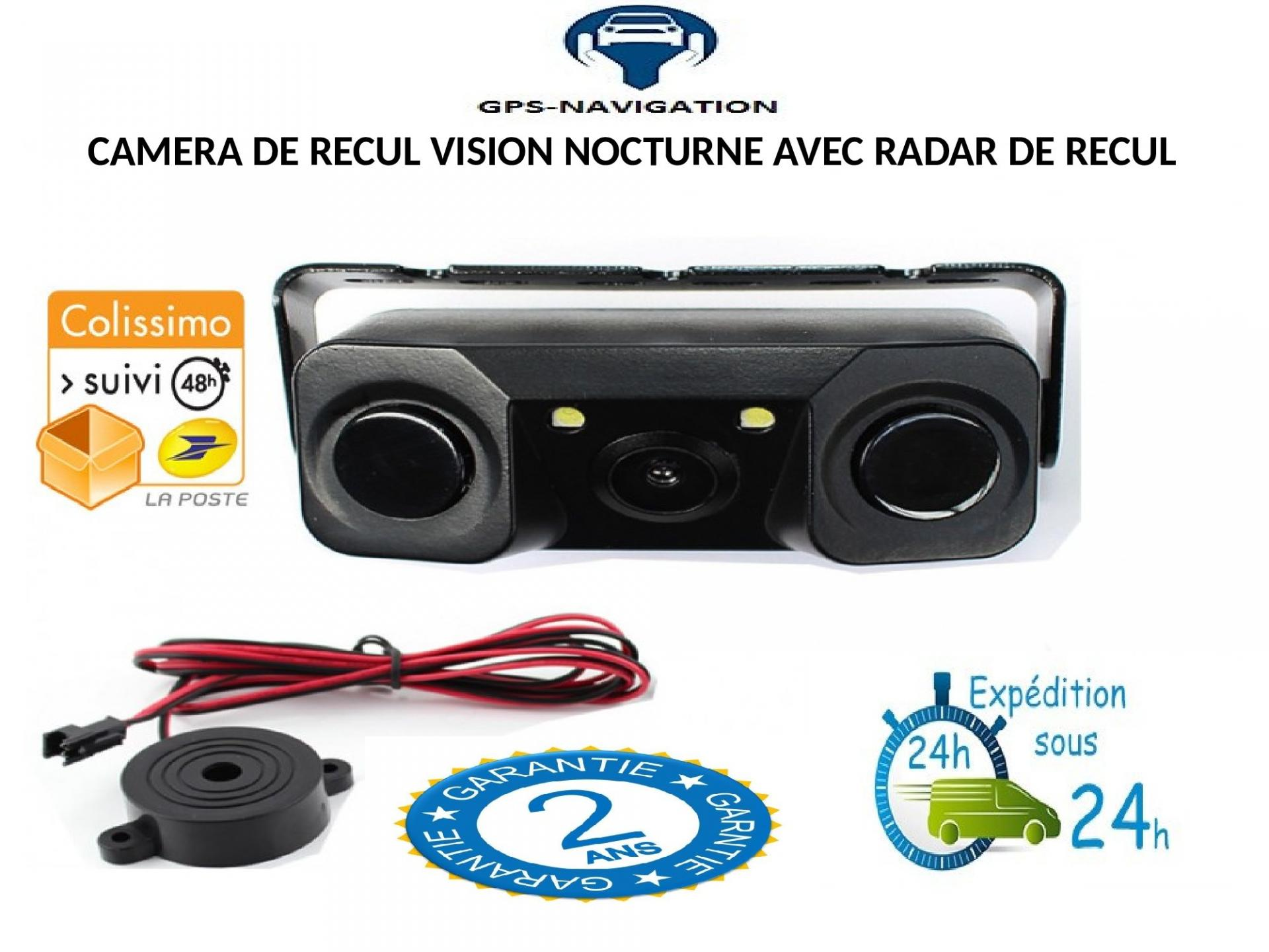 Camera de recul et radar de recul integre gps navigation fr 3 1