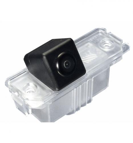 Camera gps navigation fr skoda superb rear view camera license plate light with guide lines 1