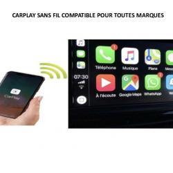 APPLE CARPLAY D'ORIGINE SANS FIL POUR TOUS LES MODELES