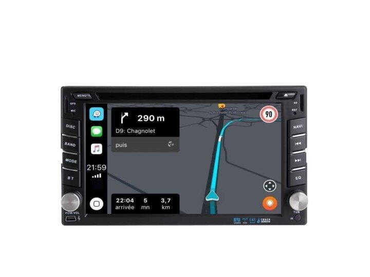 Citroen c2 c3 jumpy autoradio gps android auto carplay 3