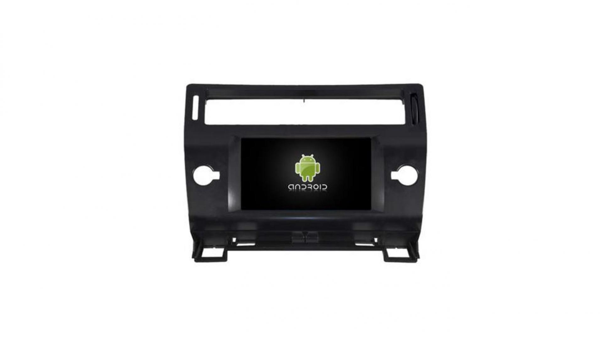Citroen c4 autoradio gps bluetooth android auto carplay camera de recul commande au volant1