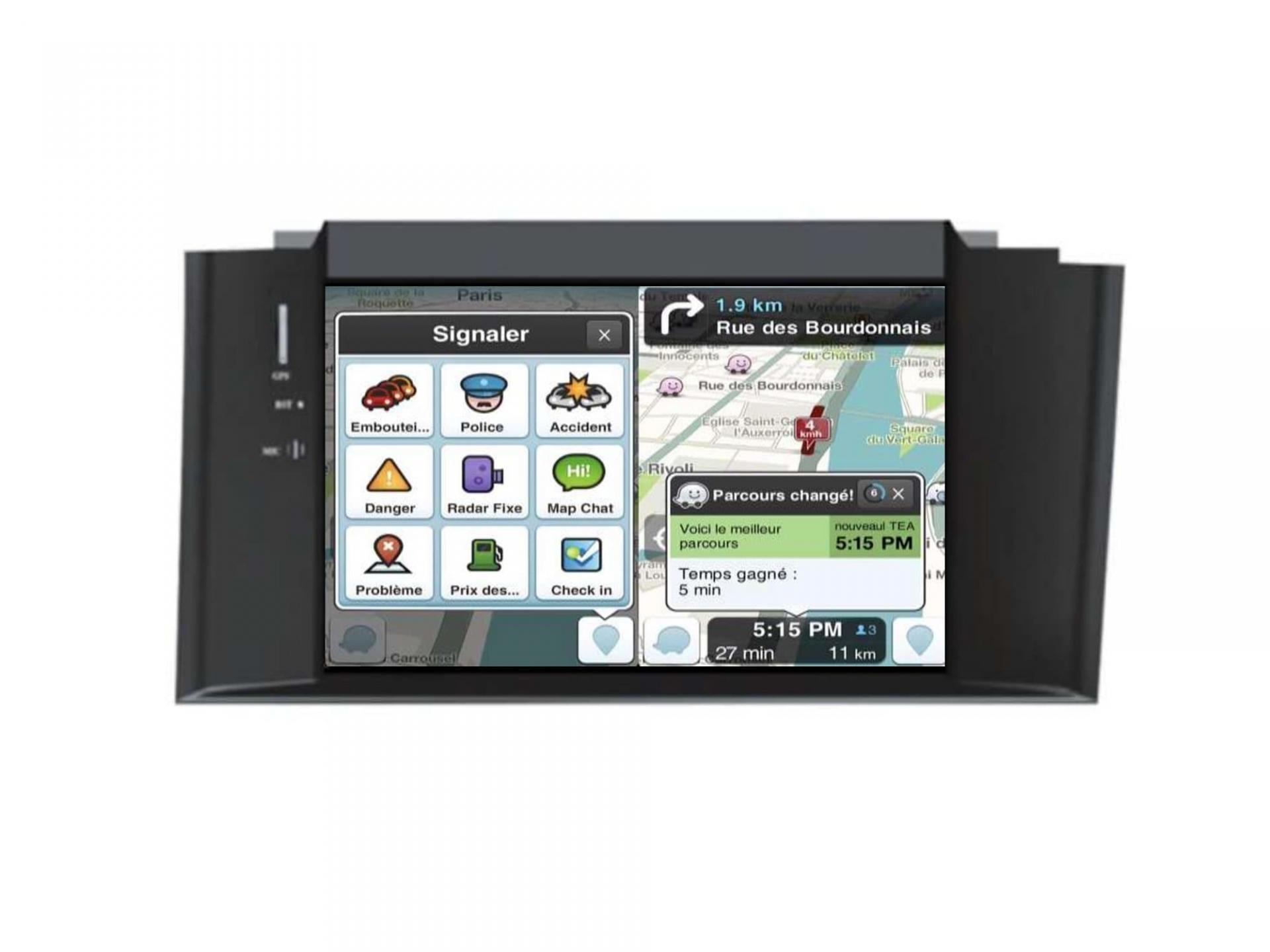 Citroen c4 ds4 gps carplay android auto gps bluetooth 10