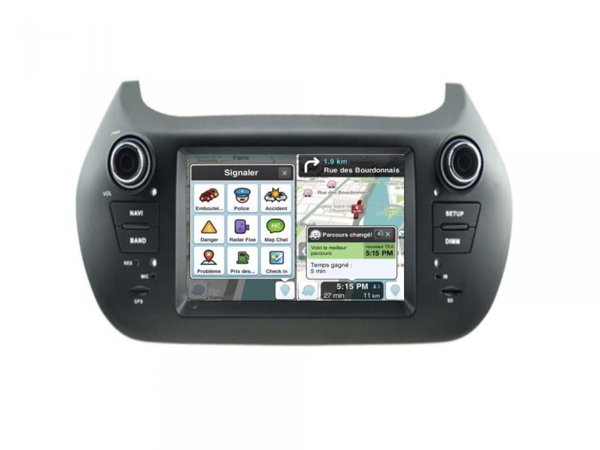 Citroen nemo peugeot bipper fiat fiorino fiat qubo bmw gps carplay android auto gps bluetooth 1