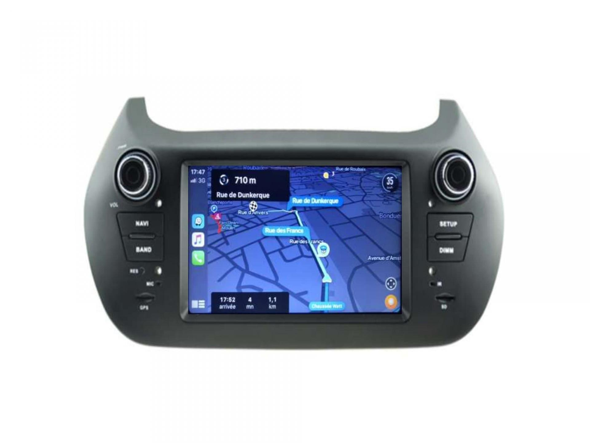 Citroen nemo peugeot bipper fiat fiorino fiat qubo bmw gps carplay android auto gps bluetooth 3