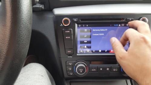 Exemple montage autoradio bmw serie1 gps navigation fr