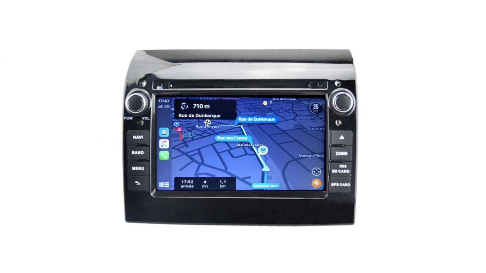 Fiat ducato autoradio gps bluetooth android auto carplay camera de recul commande au volant4 1