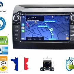 Autoradio Android tactile GPS Bluetooth Peugeot Boxer de 2011 à 2017 + caméra de recul
