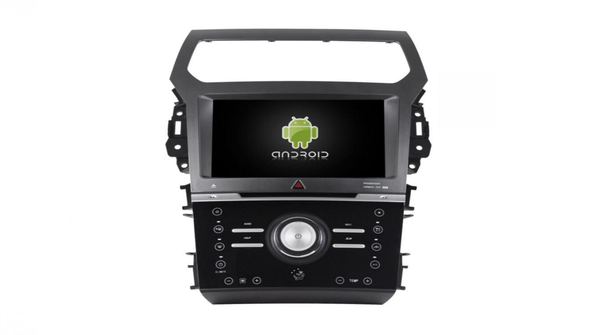 Ford explorer autoradio gps bluetooth android auto carplay camera de recul commande au volant