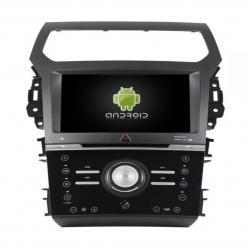 AUTORADIO ANDROID GPS BLUETOOTH FORD EXPLORER 2012 à 2015 + CAMERA DE RECUL