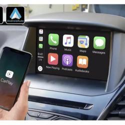 Boîtier Apple Carplay & Android Auto sans fil pour Ford Fiesta de 2012 à 2016