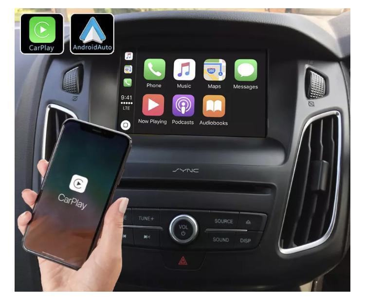 Ford explorer f150 transit focus connect tourneo carplay android auto gps autoradio i3 x3 m3 m5 x1 f48 x2 f39 2010 2011 2012 2013 2014 2015 2016 2017 2018 2019 e84 x5 x6 serie 1 se
