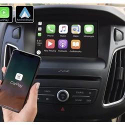 Boîtier Apple Carplay & Android Auto sans fil pour Ford Focus de 2011 à 2018