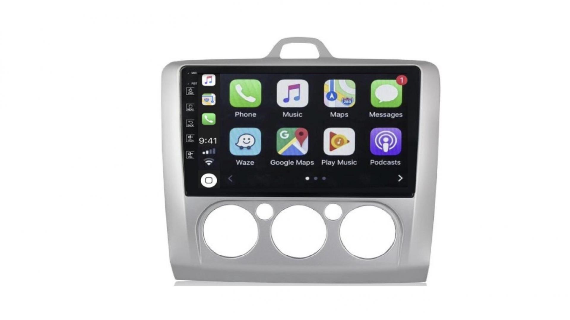 Ford focus clim manuel autoradio gps bluetooth android auto carplay camera de recul commande au volant2