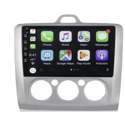 Autoradio full tactile GPS Bluetooth Android Clim manuelle Focus de 2004 à 2010 + caméra de recul