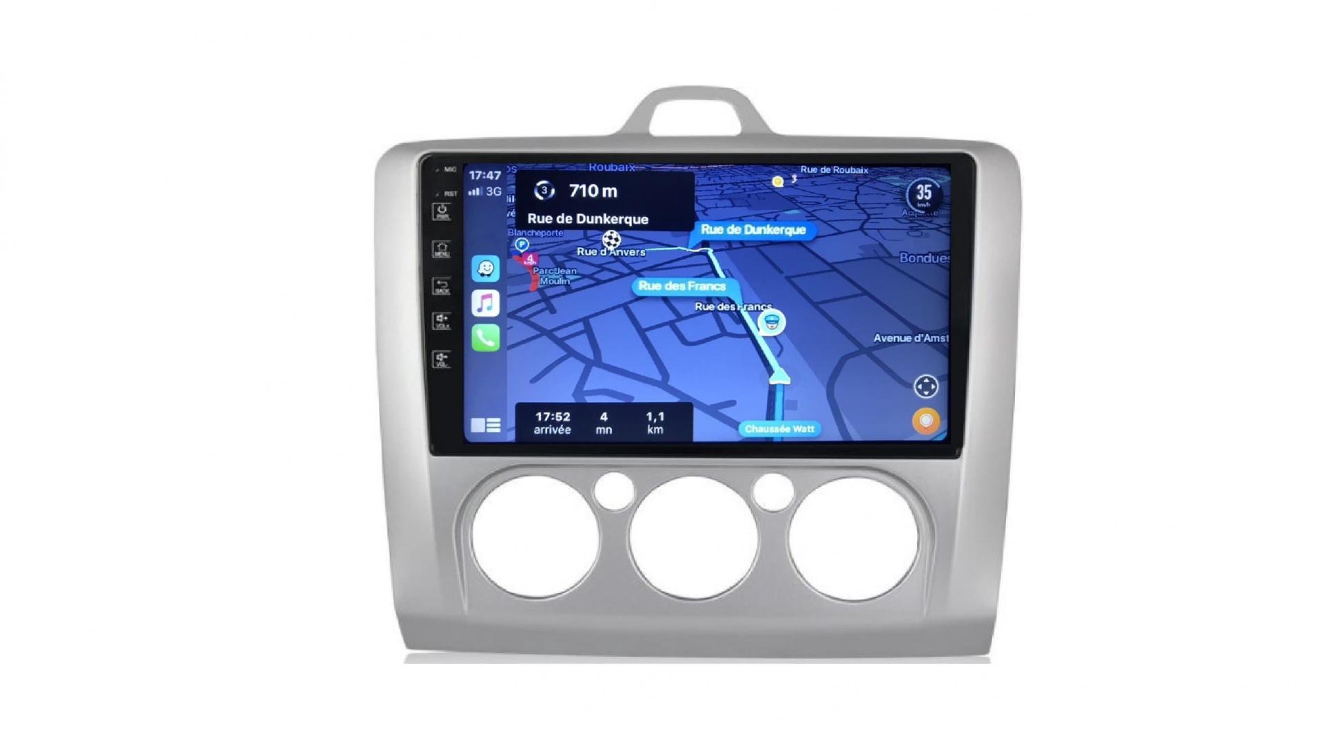Ford focus clim manuel autoradio gps bluetooth android auto carplay camera de recul commande au volant4
