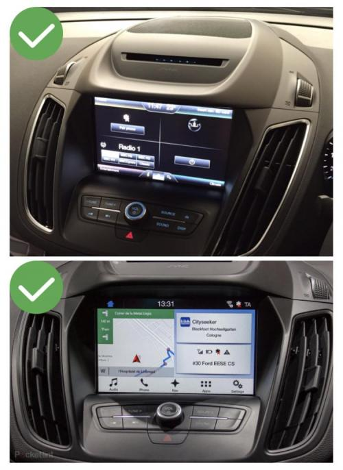 Ford kuga c max explorer f150 transit focus connect tourneo carplay android auto gps autoradio f48 x2 f39 2010 2011 2012 2013 2014 2015 2016 2017 2018 2019 e84 x5 x6 serie 1 serie