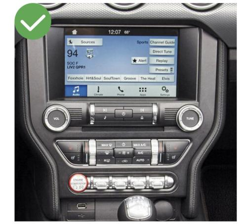 Ford ranger mustang mondeo kuga c max explorer f150 transit focus connect tourneo carplay android auto gps autoradio f48 x2 f39 2010 2011 2012 2013 2014 2015 2016 2017 2018 2019 se