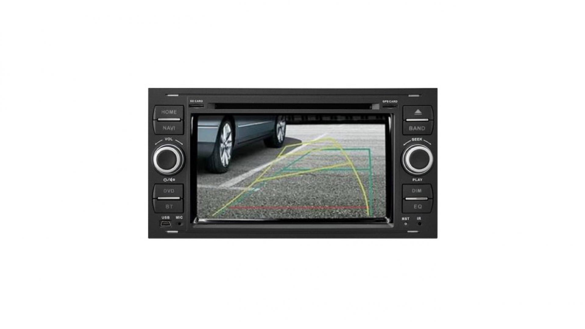 Ford transit kuga c max s max fiesta focus fusion autoradio gps bluetooth android auto carplay camera de recul commande au volant1 1