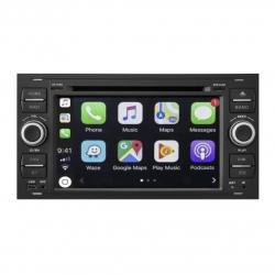 Autoradio tactile GPS Bluetooth Android Ford Kuga,Transit,C-Max,S-Max,Fiesta,Focus,Fusion et Mondéo + caméra de recul