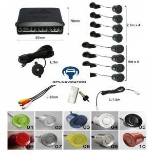 Gps navigation fr affichage video camera avant arriere radars avant arriere plusieurs couleurs trepan 3 4
