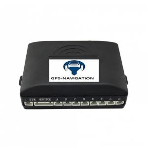 Gps navigation fr affichage video camera avant arriere radars avant arriere plusieurs couleurs trepan 4 3