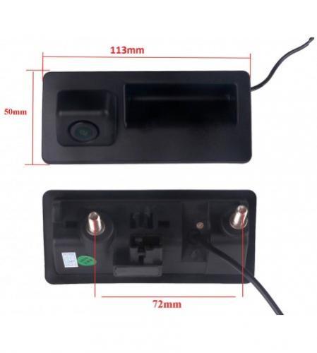 Gps navigation fr camera de recul poignee de coffre pour audi et vw lumiere de plaque a3 q5 a4 a5 s5 8t s4 b8 q5 q3 a6l a8l rs6 4 1