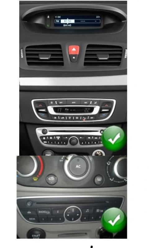 Gps navigation fr renault megane 2 3g wifi autoradio bluetooth poste 3g gps dvd usb sd ipod bluetooth tv 1
