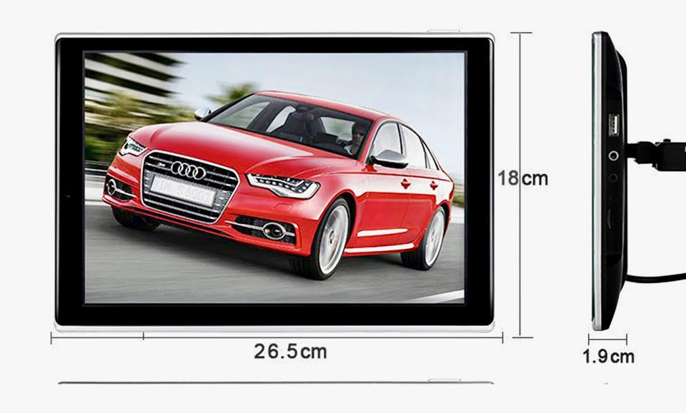Headrest monitor for audi appui tete android car tv 3 1