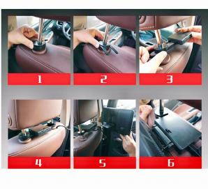Headrest monitor for audi appui tete android car tv 4