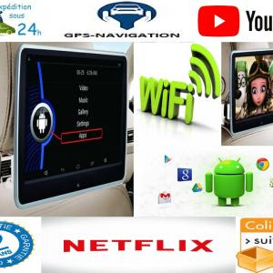 Headrest monitor for audi appui tete android car tv 5 5
