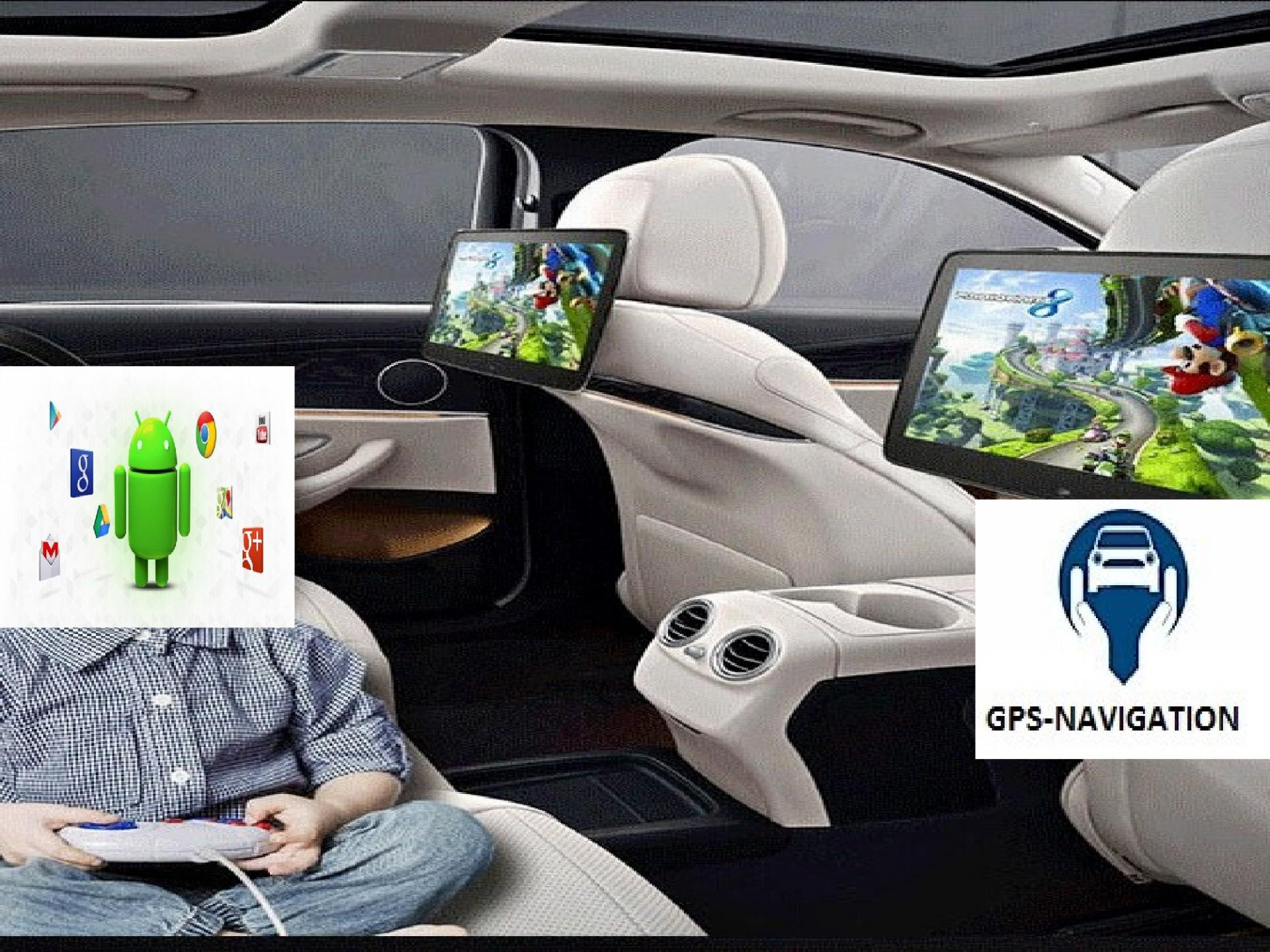 Headrest monitor for audi appui tete android car tv 7 1