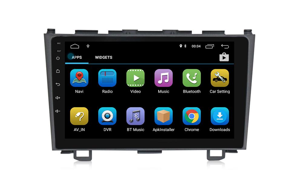Honda cvr autoradio gps bluetooth autoradio gps android camera de recul commande au volant ipod tv dvbt 3g 4g pas cher wifi 2