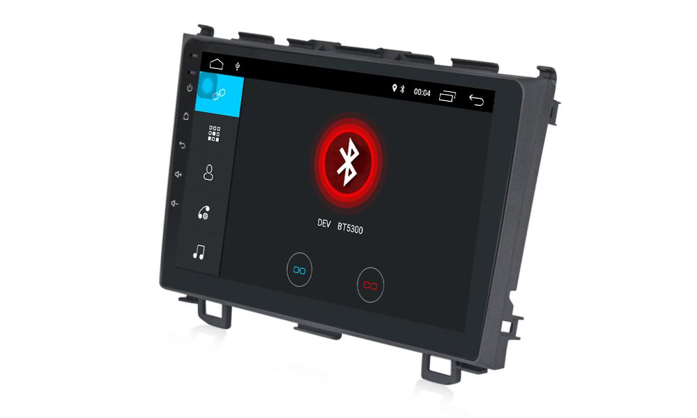 Honda cvr autoradio gps bluetooth autoradio gps android camera de recul commande au volant ipod tv dvbt 3g 4g pas cher wifi 3