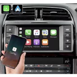 Boîtier Apple Carplay & Android Auto sans fil pour Jaguar XE et F-Pace de 2015 à 2020
