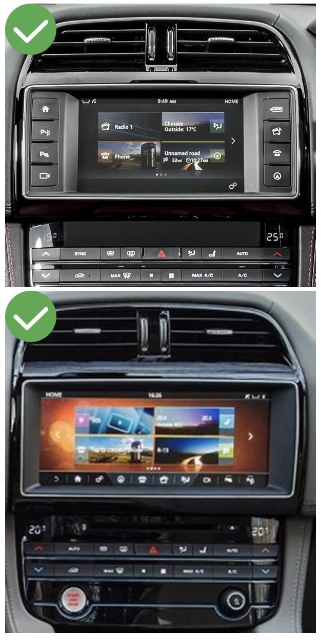 Jaguar xe f pace carplay android auto gps autoradio i3 x3 m3 m5 x1 f48 x2 f39 2010 2011 2012 2013 2014 2015 2016 2017 2018 2019 e84 x5 x6 serie 1 serie 3 e90 serie 5 e60 serie 6 e6