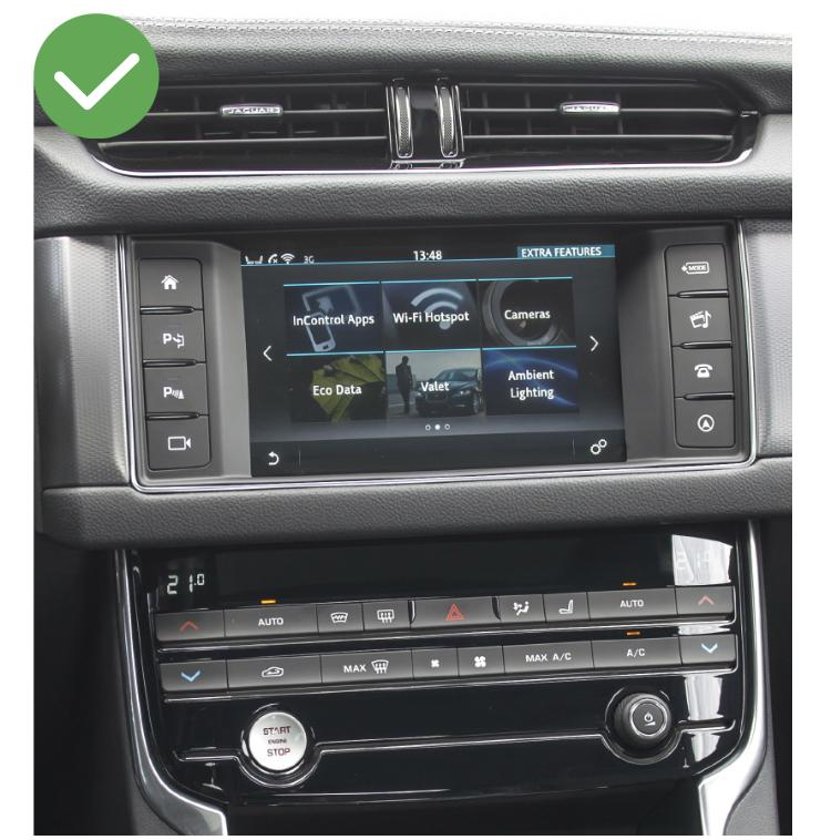 Jaguar xe f pace xf carplay android auto gps autoradio i3 x3 m3 m5 x1 f48 x2 f39 2010 2011 2012 2013 2014 2015 2016 2017 2018 2019 e84 x5 x6 serie 1 serie 3 e90 serie 5 e60 serie 6