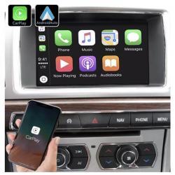 Boîtier Apple Carplay & Android Auto sans fil pour Jaguar XF à de 2012 à 2015