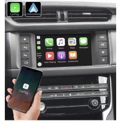Boîtier Apple Carplay & Android Auto sans fil pour Jaguar XF à partir de 2015