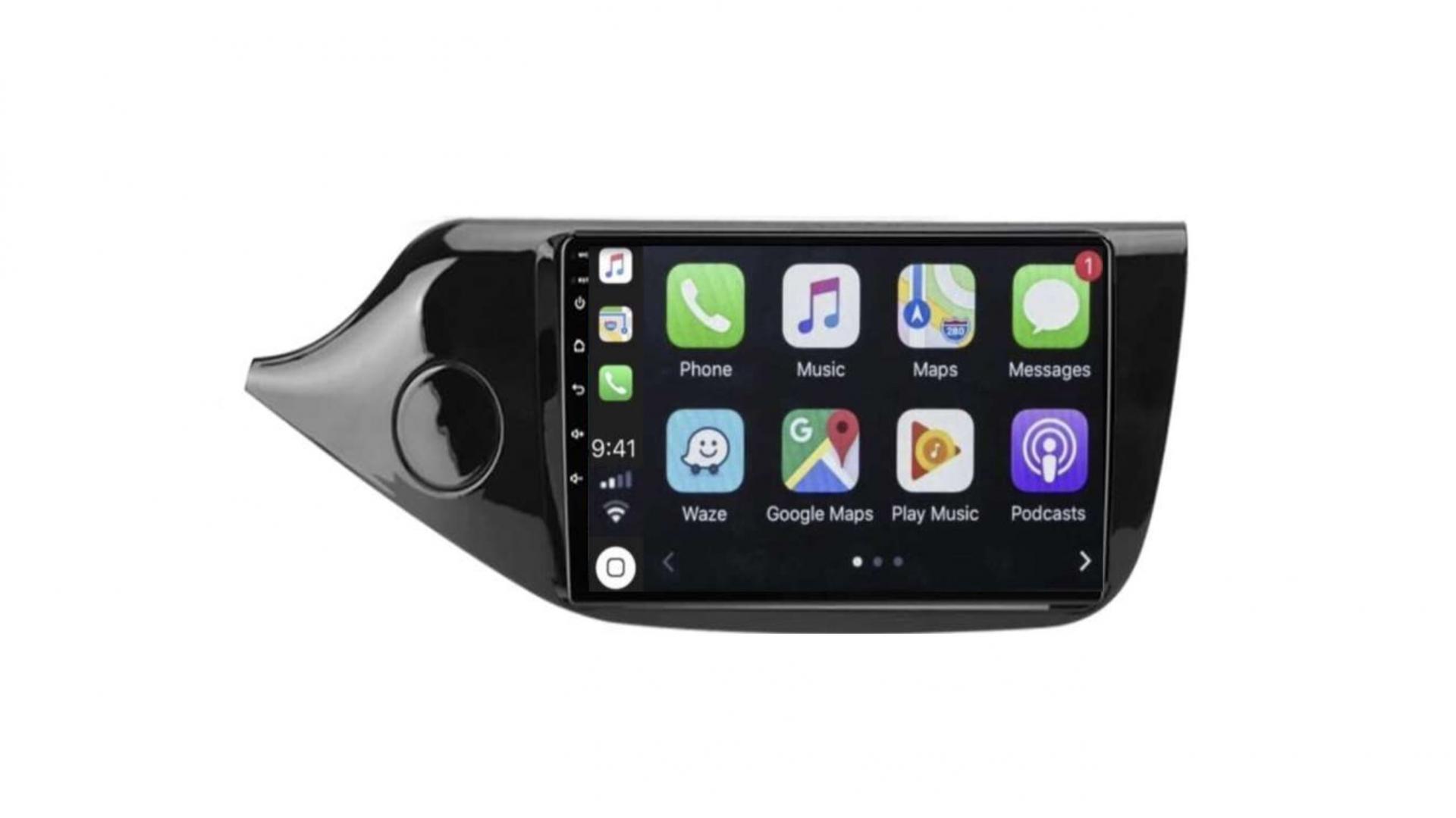 Kia ceed autoradio gps bluetooth android auto carplay camera de recul wifi commande au volant2