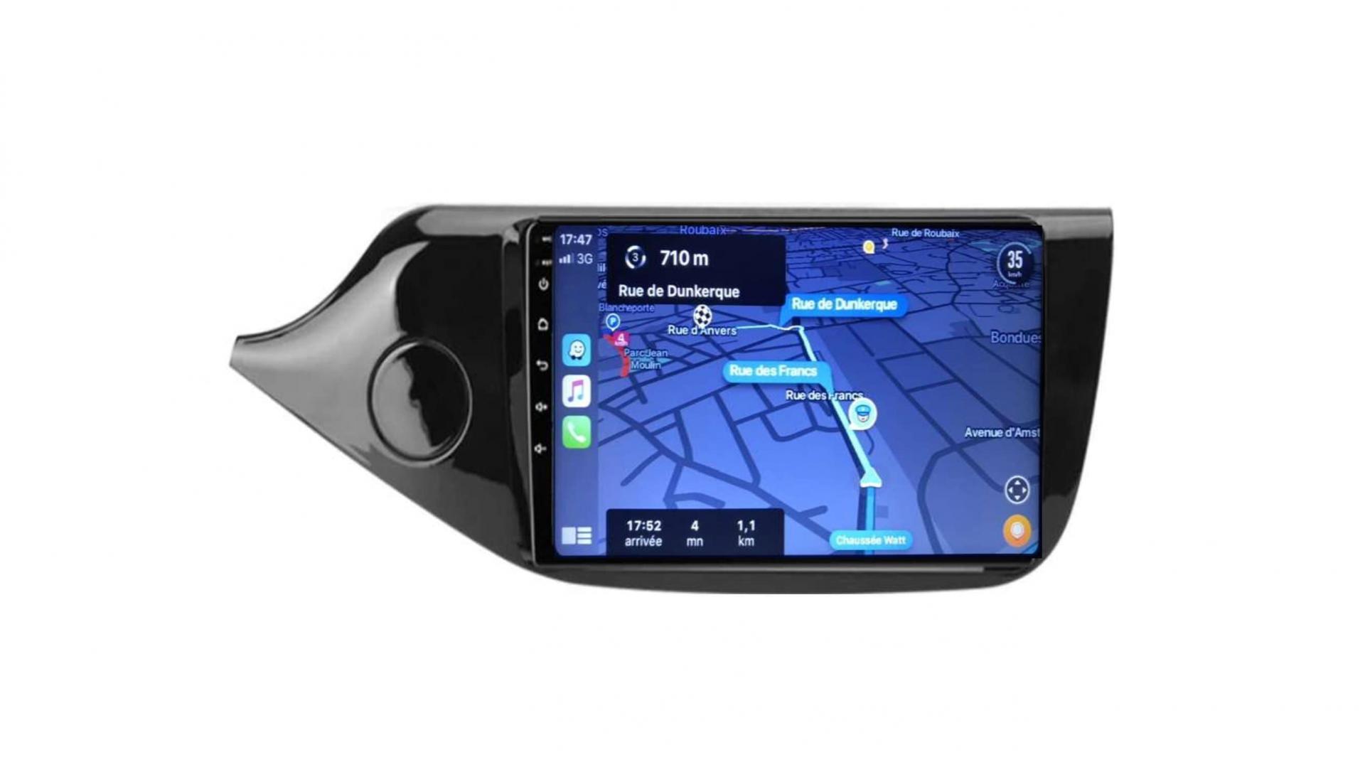 Kia ceed autoradio gps bluetooth android auto carplay camera de recul wifi commande au volant4