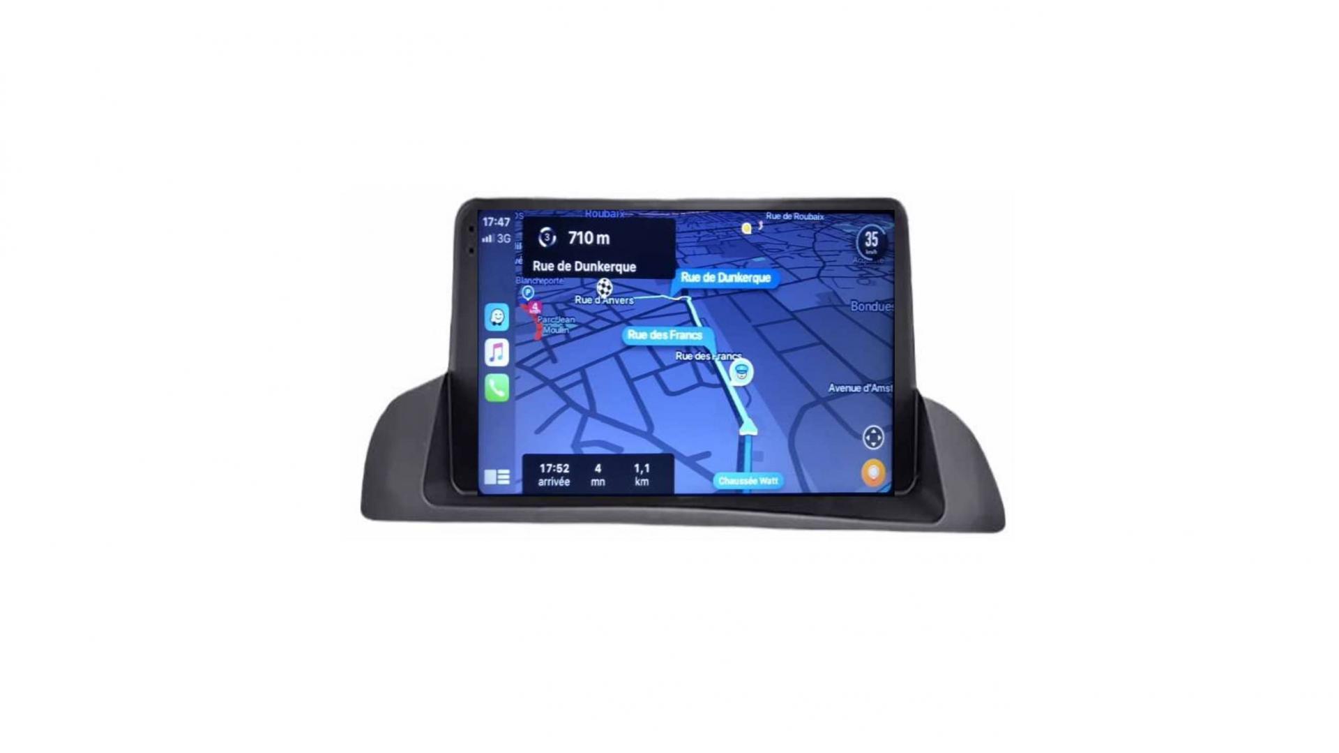 Lexus ct 200 autoradio gps bluetooth android auto carplay camera de recul commande au volant1