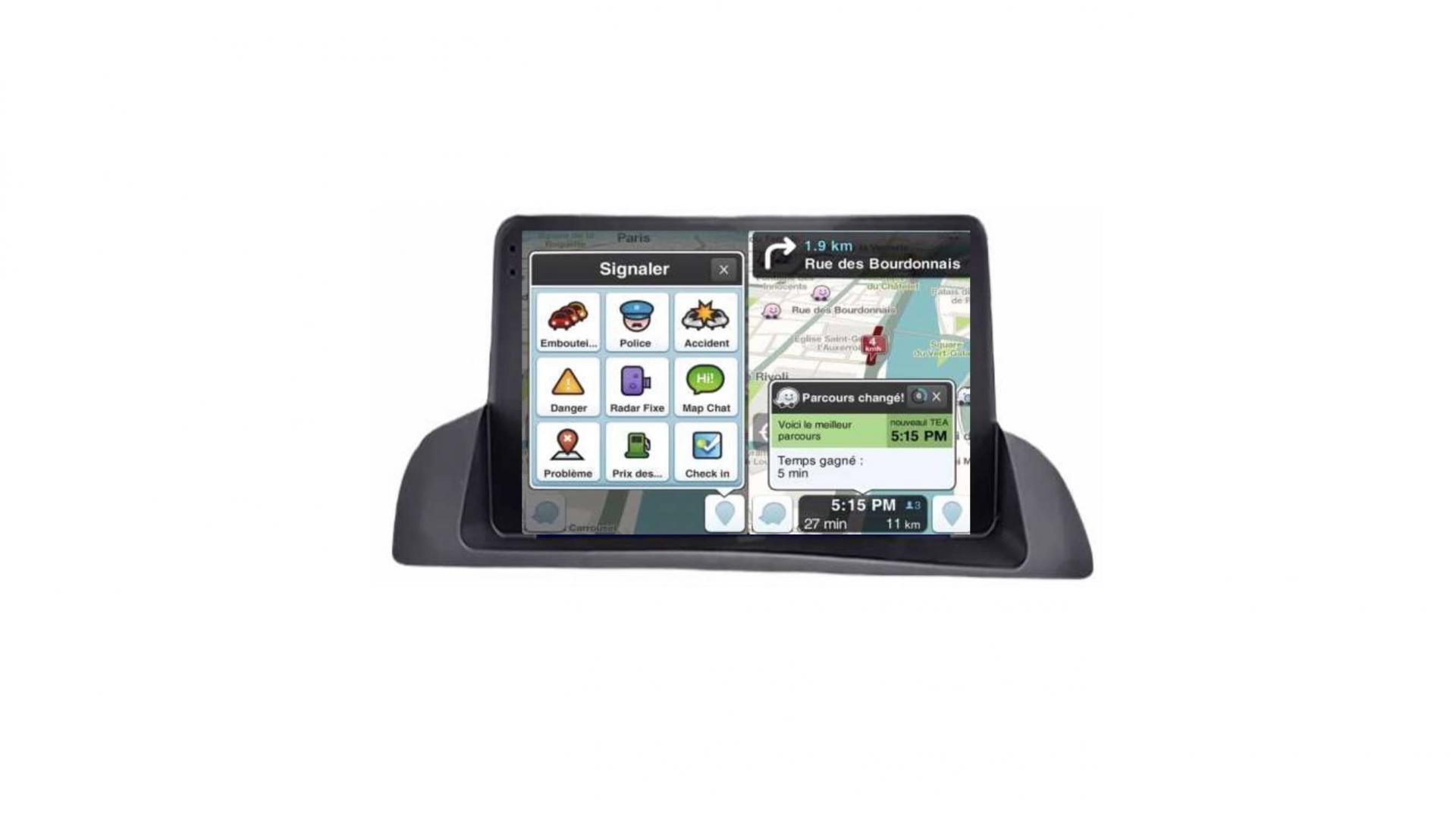 Lexus ct 200 autoradio gps bluetooth android auto carplay camera de recul commande au volant2