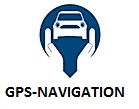 Logo gps navigation
