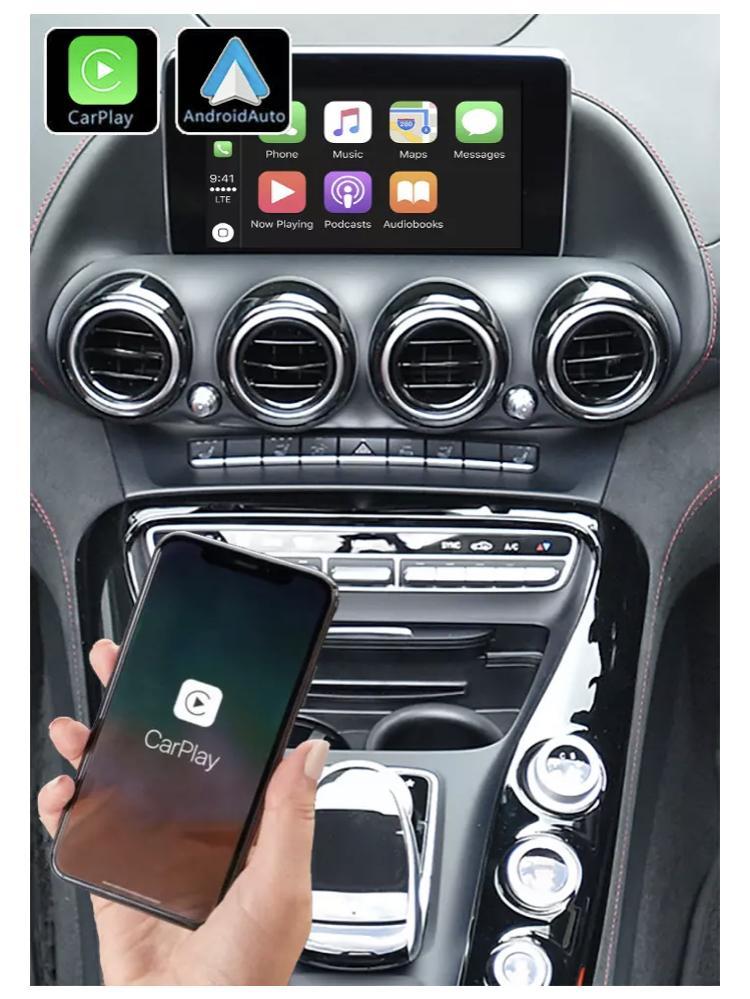 Mercedes amg gt cla gla glb sprinter b glc e w212 classe g w463 5 v x cls gle glk slk ml gl slc ntg4 0 ntg 5 0 ntg4 5 c w204 sl r231 carplay android auto gps autoradio 2010 2011 20