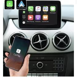 Boîtier Apple Carplay & Android Auto sans fil pour Mercedes B de 2013 à 2019