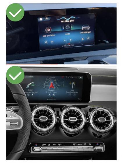 Mercedes cla gla glb sprinter b glc e w212 classe g w463 5 v x cls gle glk slk ml gl slc ntg4 0 ntg 5 0 ntg4 5 c w204 sl r231 carplay android auto gps autoradio 2010 2011 2012 2013