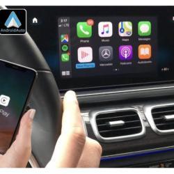 Boîtier Apple Carplay & Android Auto sans fil pour Mercedes GLE et GLS à partir de 2019