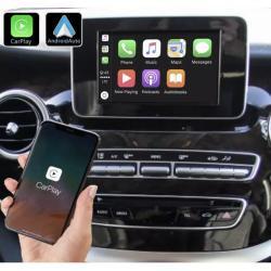 Boîtier Apple Carplay & Android Auto sans fil pour Mercedes Classe 5 à partir de 2015